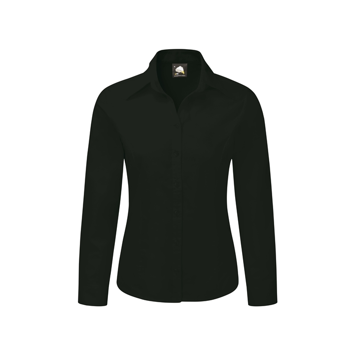 Ladies Essential Oxford L/S Blouse