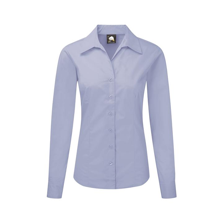 Ladies Premium Oxford L/S Blouse