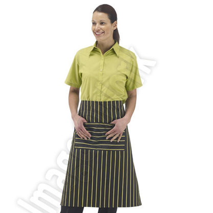 Striped Long Apron