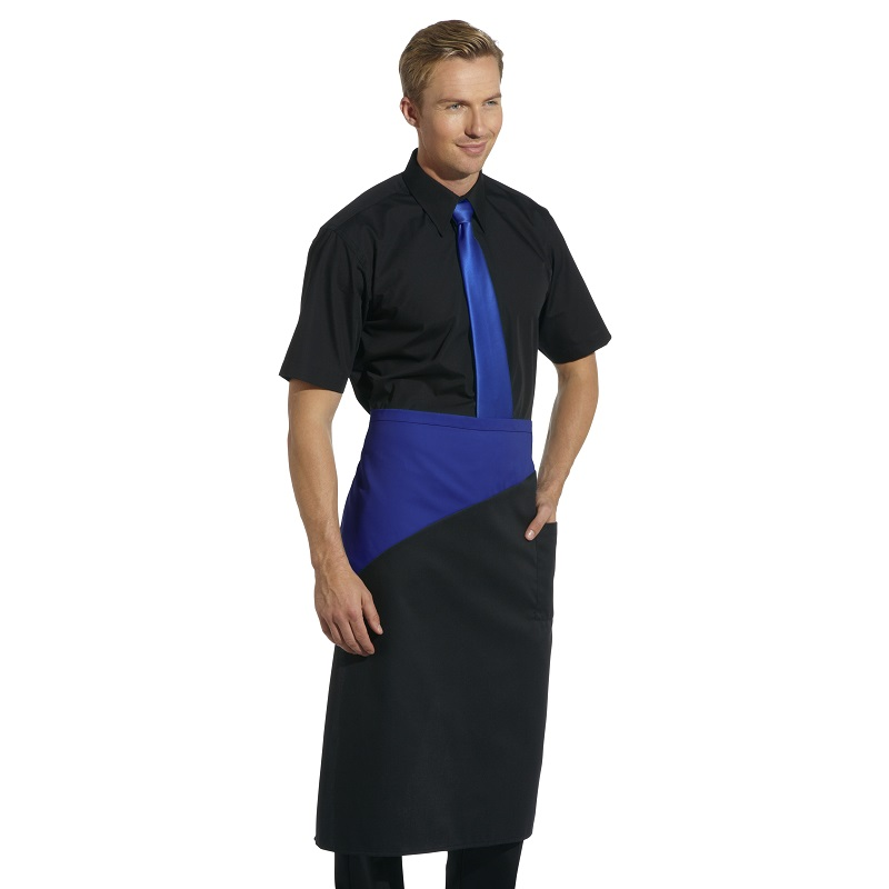 Continental Style Contrast Bar Apron