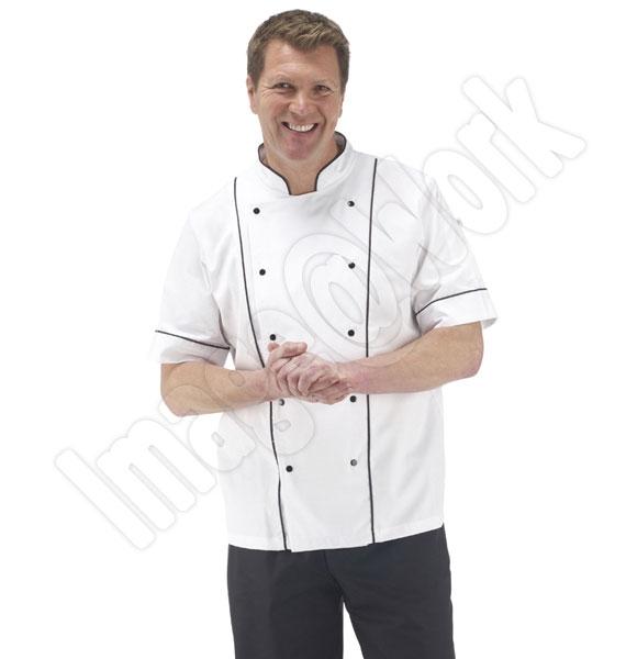 Prestige Short Sleeve Chefs Jacket