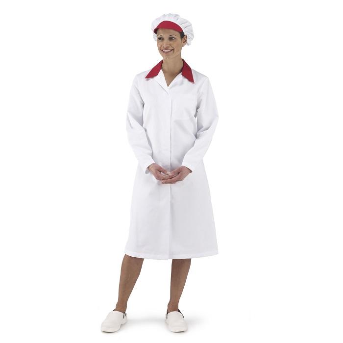 Ladies Contrast Collar Foodtrade Coat