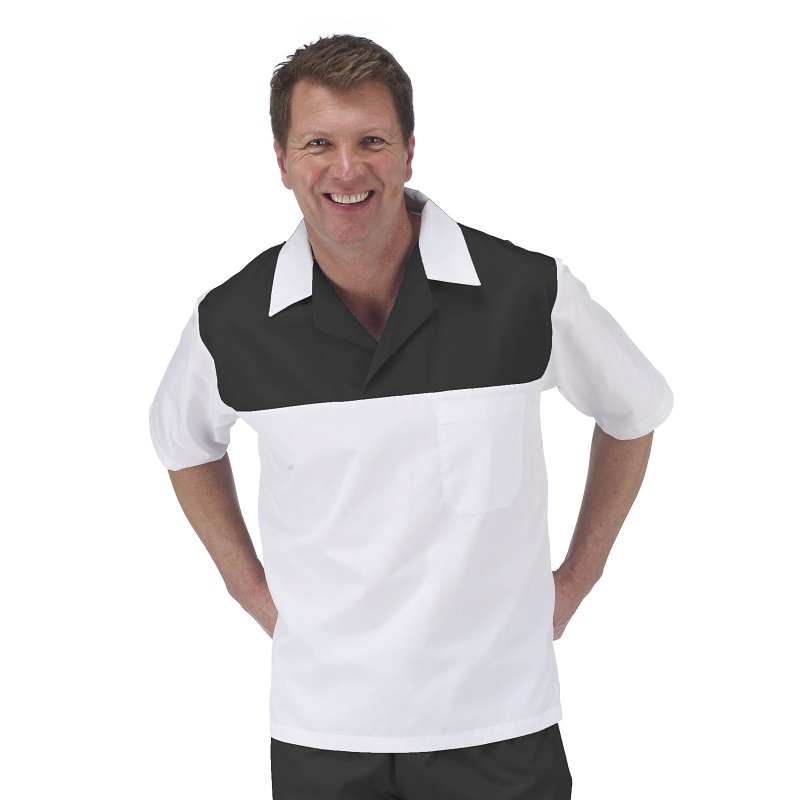 Catering Shirt With Contrast