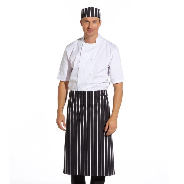 Butcher Stripe Long Apron