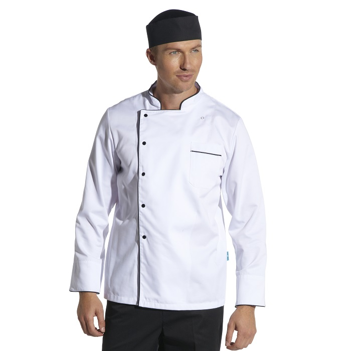 Cooltex Chefs Jacket with Contrast
