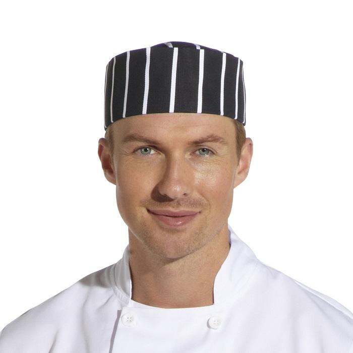 Butcher Stripe Chefs Hat