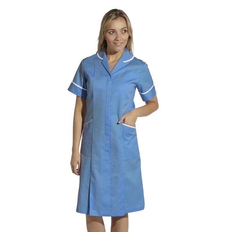 Ladies Zip Front Dress