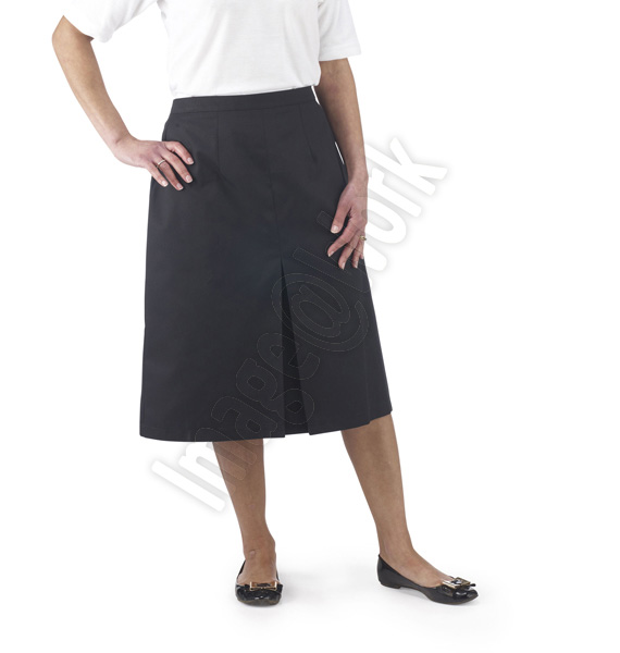 Ladies Front Pleat Skirt