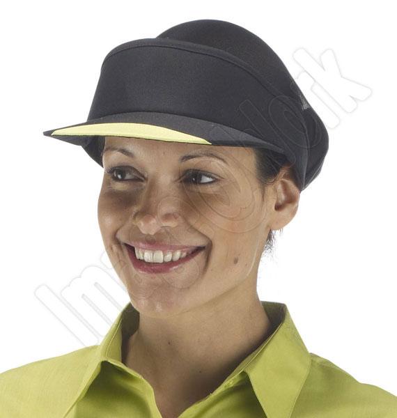 Contrast Coloured Peak Visor Hat