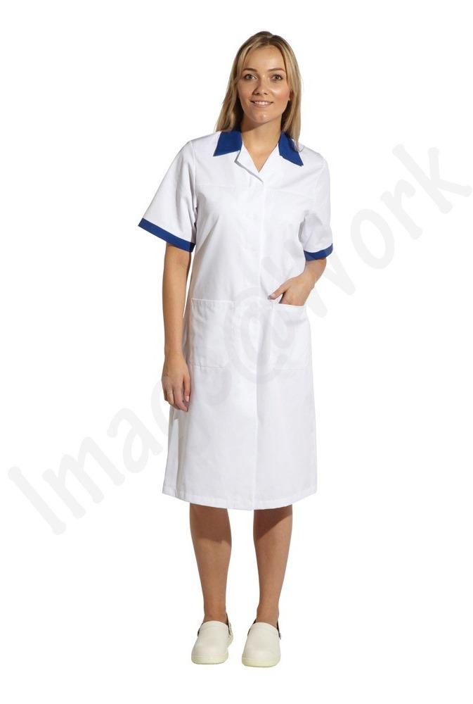 Ladies Contrast Workcoat