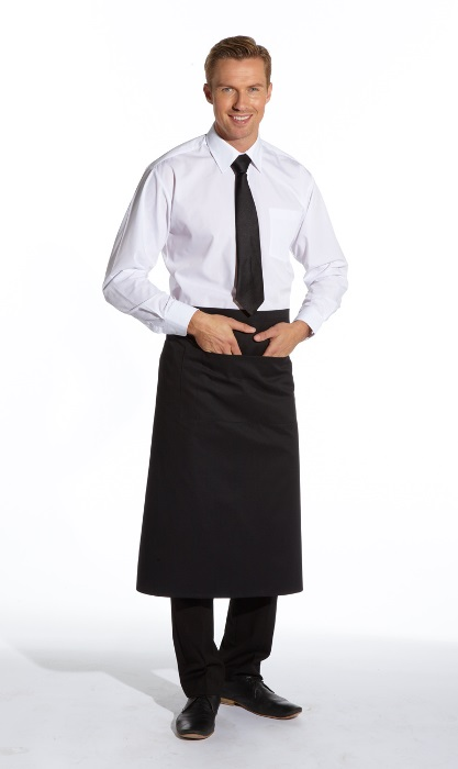 Long Continental Style Bar Apron