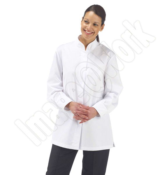 Ladies White Catering Tunic