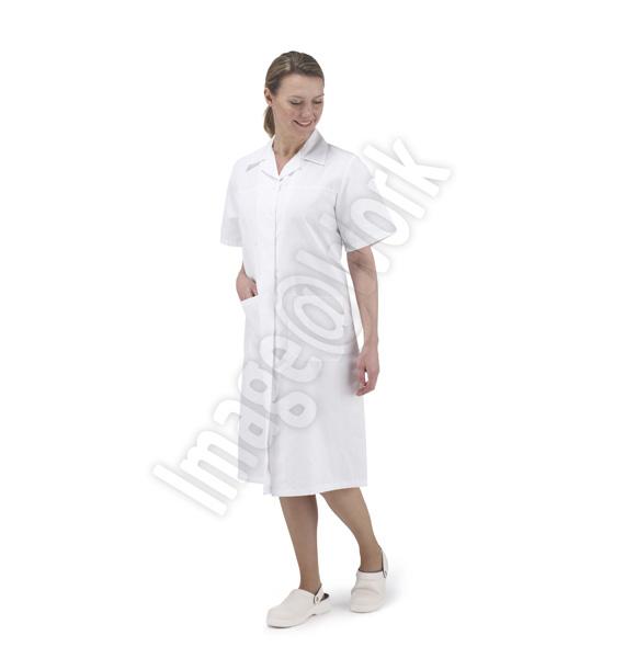 Ladies S/S Workcoat