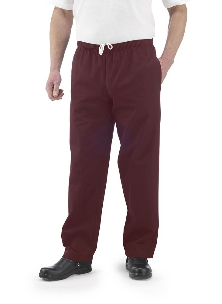 Maroon Catering Trousers