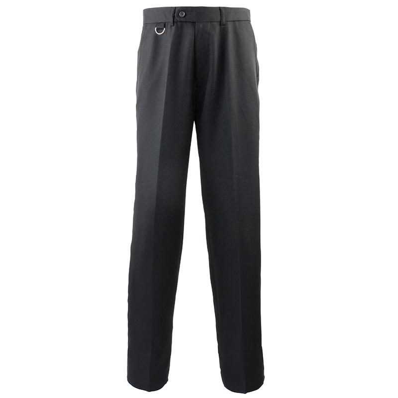 Flat Front Hospitality Trousers