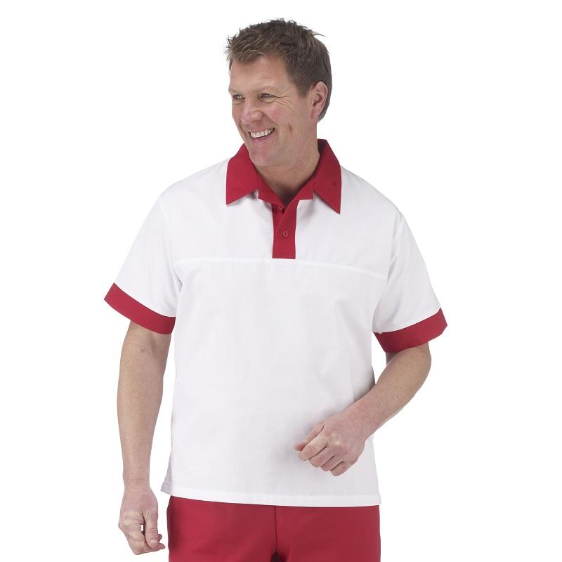 Unisex Short Sleeve Catering Shirt