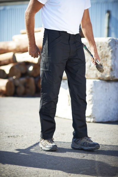 Workwear Action Trousers with Kneepad Pocket