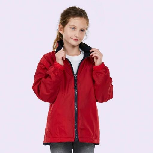 Childrens Reversible Fleece Jacket