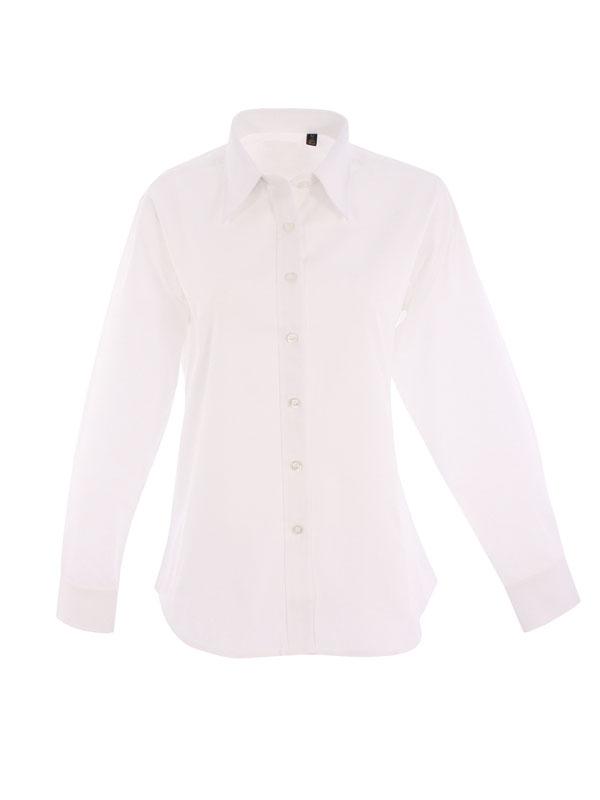 Ladies Pinpoint Oxford Shirt
