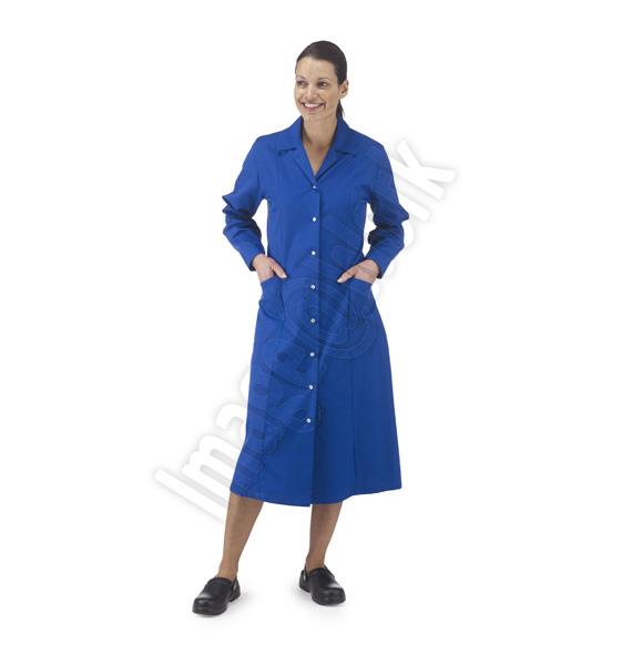 Ladies L/S Workcoat